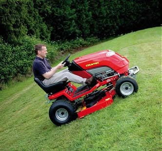 how to protect a ride on mower deck